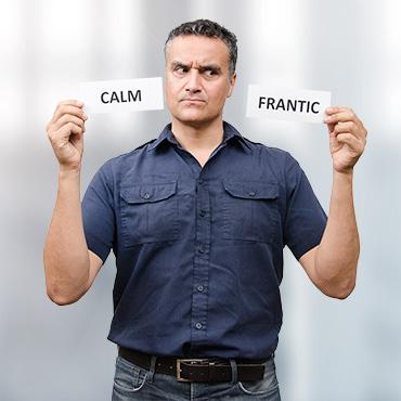 Calm Frantic